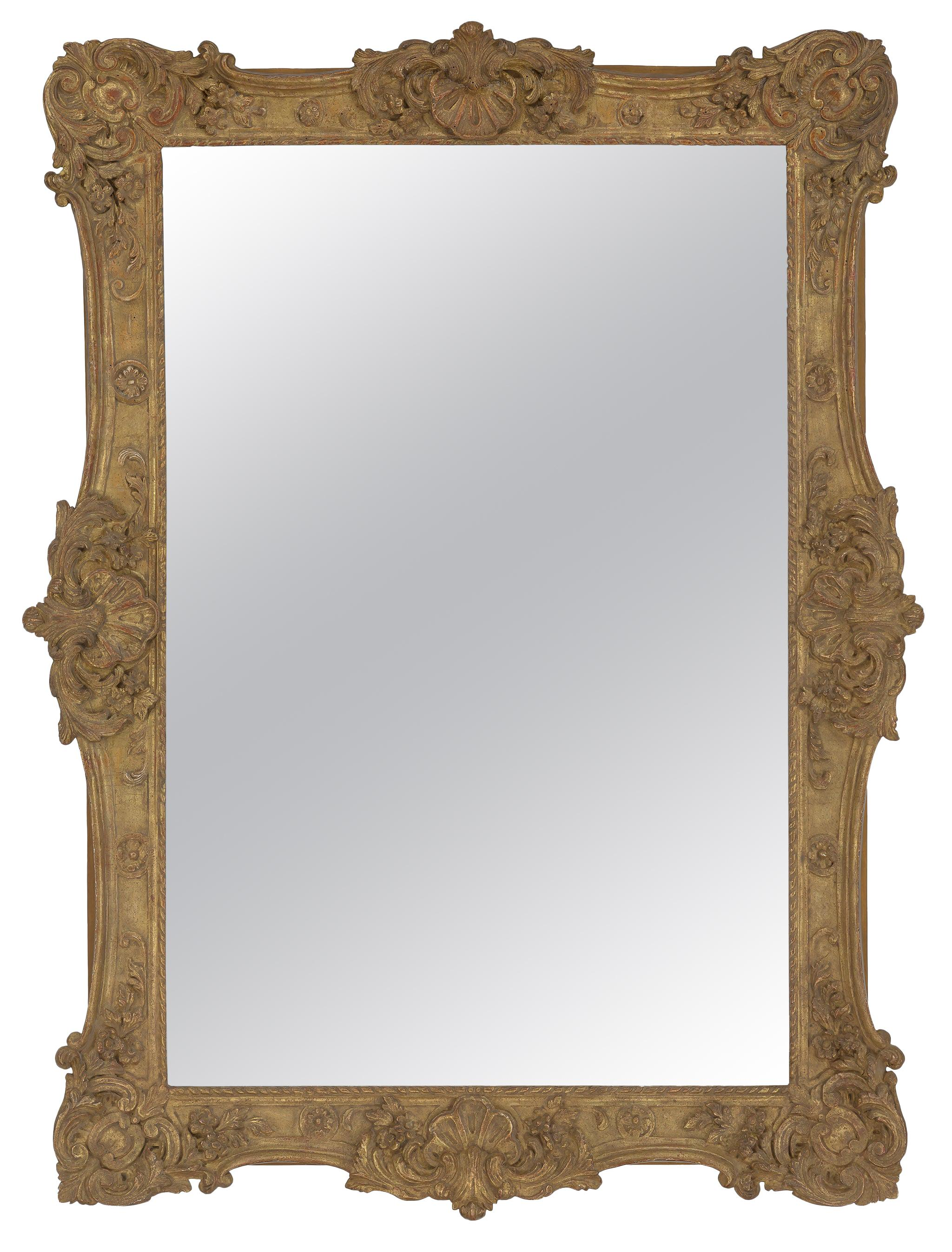 Rococo French Style Carved Mirror