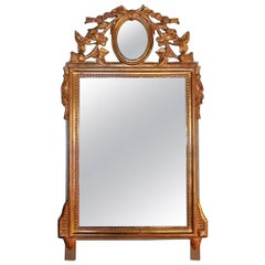 Rococo' Giltwood Frame and Double Mirror, France