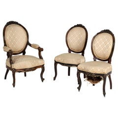 Rococo Louis XV Style Late 19th Century Chair