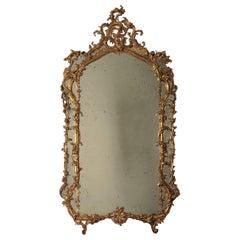 Rococo Mirror Tuscany, Italy, 18th Century