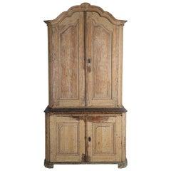 Rococo Period Swedish Cupboard