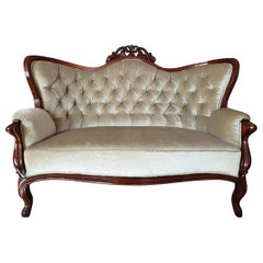 Rococo Revival /Chippendale Sofa, Beginning of the 20th Century