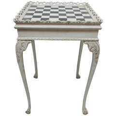 Rococo Style Chess Table