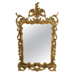 Rococo Style Gilt Mirror by Labarge