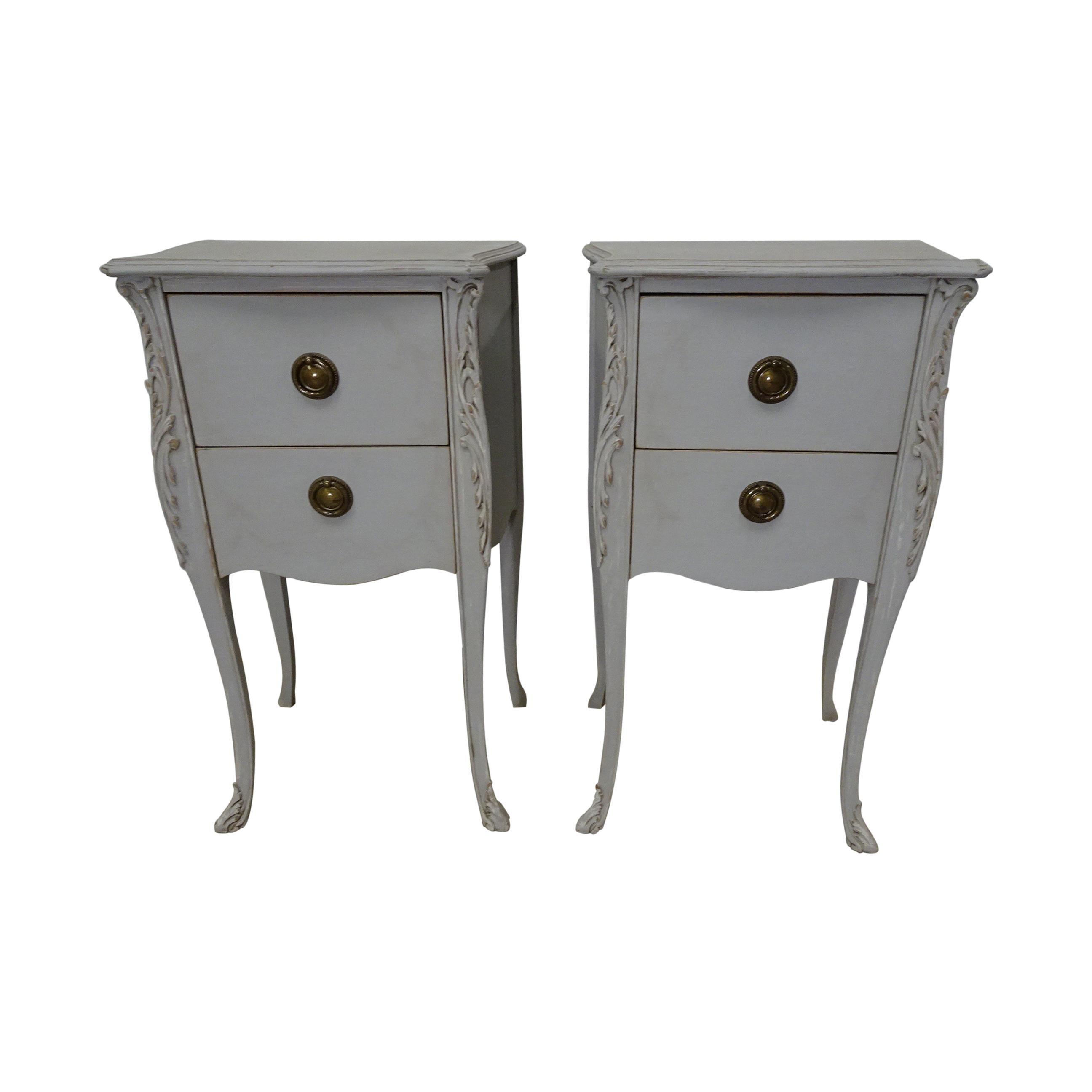 Rococo Style Nightstands