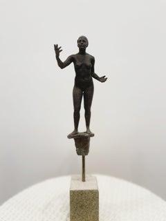 Lilliputian #33 by Rod Moorhead. Figurative sculpture.