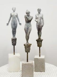 Lilliputian #40 by Rod Moorhead. Figurative sculpture.