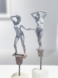Lilliputian #45 by Rod Moorhead. Figurative sculpture.