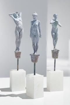 Lilliputian #46 by Rod Moorhead. Figurative sculpture.