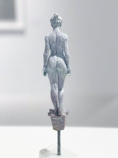 Lilliputian #47 by Rod Moorhead. Figurative sculpture.