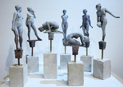 Lilliputian #8 by Rod Moorhead. Figurative sculpture.