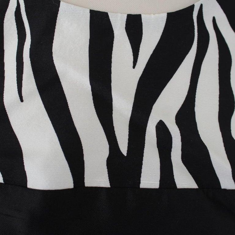 Rodarte Animalier Dress IT 40 In Excellent Condition For Sale In Gazzaniga (BG), IT