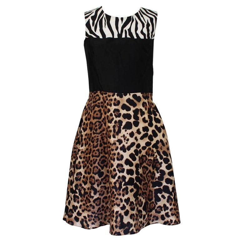 Rodarte Animalier Dress IT 40 For Sale