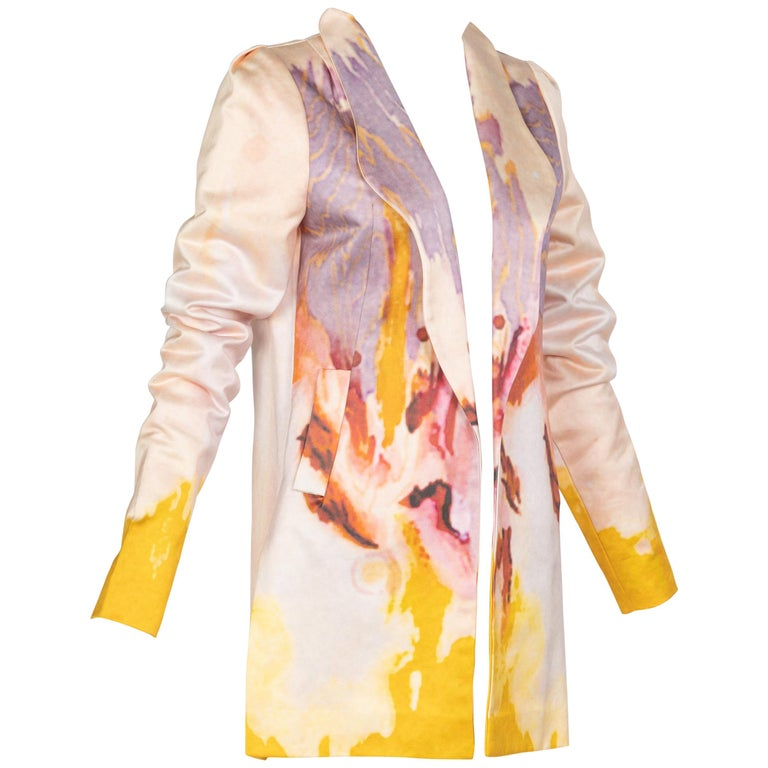 Rodarte Watercolor Jacket Runway Spring ,2008 For Sale
