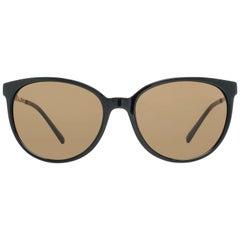 Rodenstock Mint Women Black Sunglasses R3297 A 55 56-16-136 mm