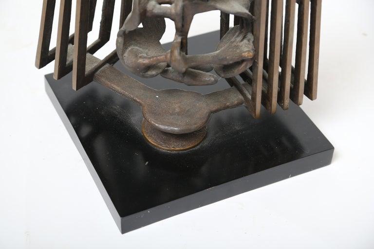 Rodger Mack Bronze Sculpture For Sale 1