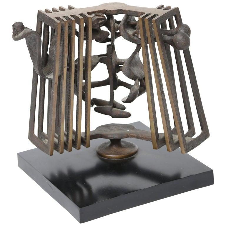 Rodger Mack Bronze Sculpture For Sale