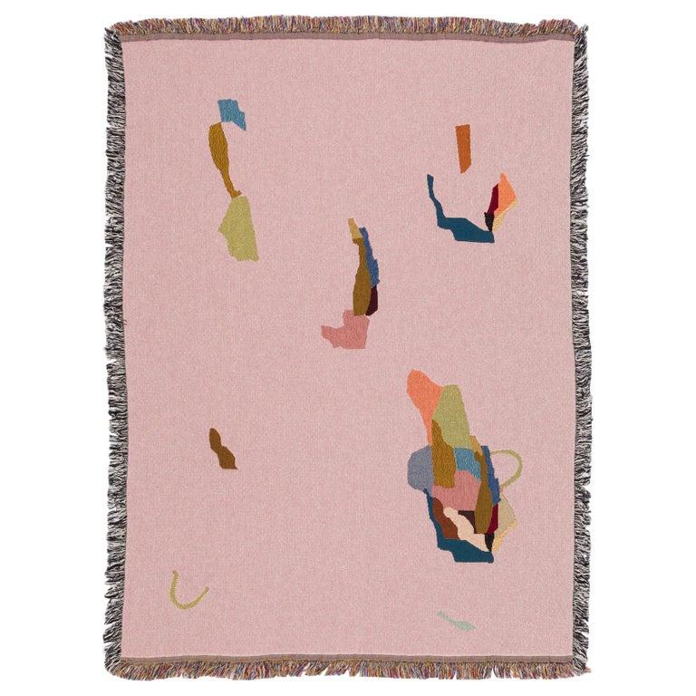 Rodinia Woven Throw by Studio Herron For Sale
