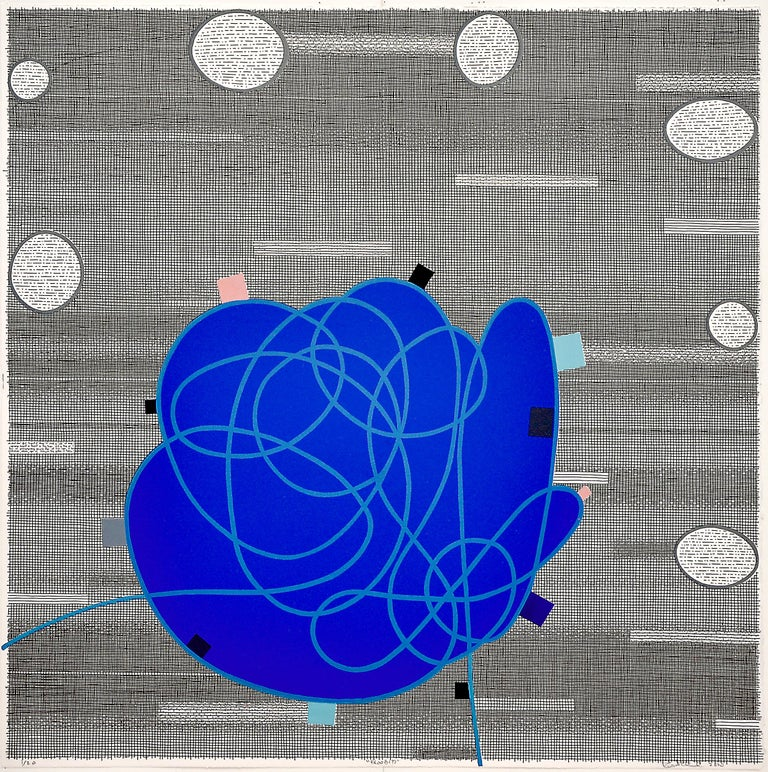 Rodney Carswell Abstract Print - Bloob (?)
