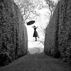 Kelsey Balancing on Tightrope, Amenia, NY