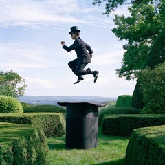 Reed Floating Above Giant Top Hat