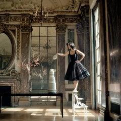 Zoe Pouring Tea,Burden Mansion, New York, NY
