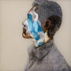 Mika IV, Oil and Mixed on Resin Panel, Contemporary Art