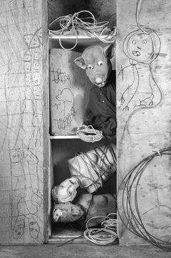 Bound – Roger Ballen, Roger The Rat, Black and White, Animal, Photography, Art