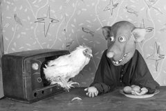 Lured – Roger Ballen, Roger The Rat, Black and White, Animal, Photography, Art