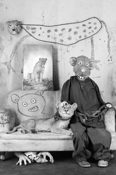 Protector – Roger Ballen, Roger The Rat, Black and White, Animal, Photography