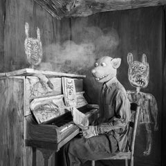 Smoked Out – Roger Ballen, Roger The Rat, Black and White, Animal, Photography