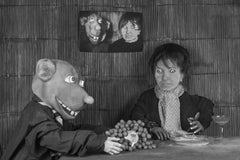 Sour Grapes – Roger Ballen, Roger The Rat, Black and White, Animal, Photography