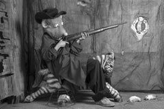 Targeting – Roger Ballen, Roger The Rat, Black and White, Animal, Photography