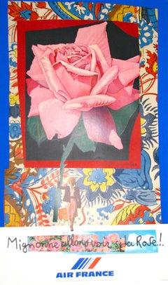 Air France, Mignonne allons voir la Rose by Roger Bezombes