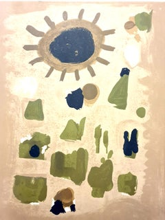 Roger Bissiere - Landscape - Lithograph