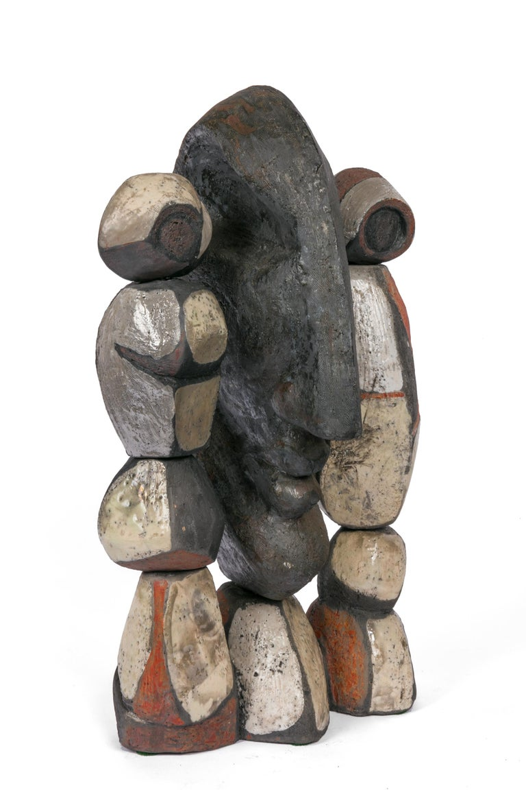 Although he is primarily known for his tables he went on to create amazing sculptures later in his life. This is an example of that later work.