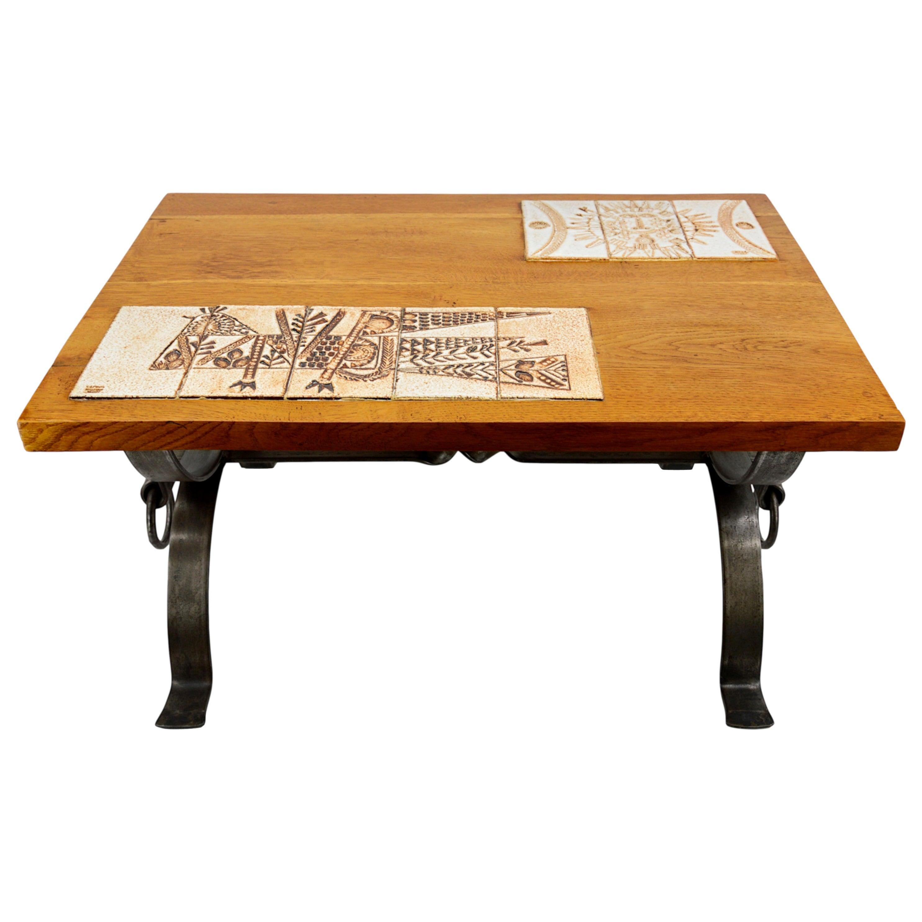 Roger Capron Side Tables