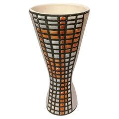 Roger Capron Ceramic Vase Vallauris, France, 1950