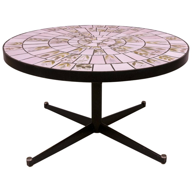 Roger Capron Coffee Table, circa 1960, France For Sale