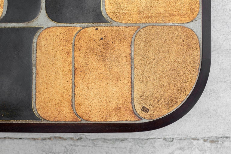 Ceramic Roger Capron Coffee Table For Sale