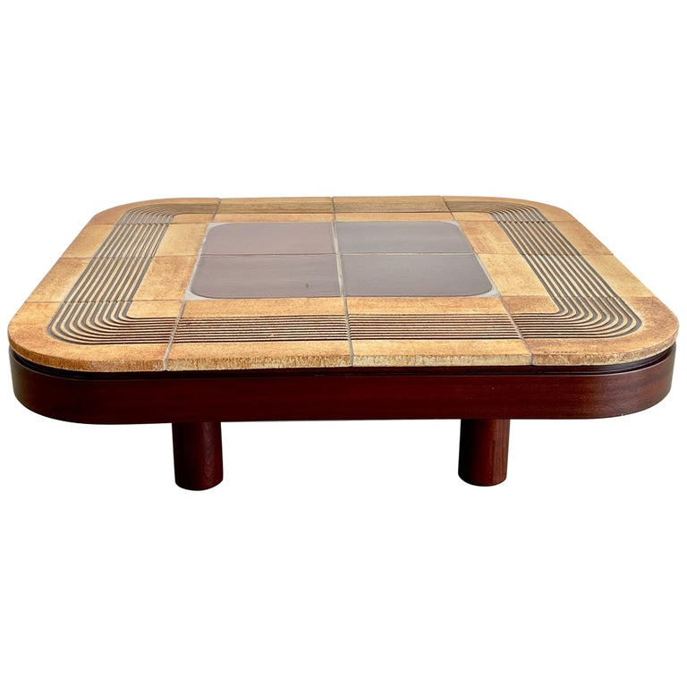 Roger Capron Coffee Table For Sale