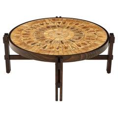 Roger Capron Mid-Century Modern Coffee Table