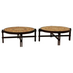 Roger Capron Mid-Century Modern Coffee Tables