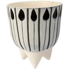 Roger Capron Molaire Vase, 1950s, France