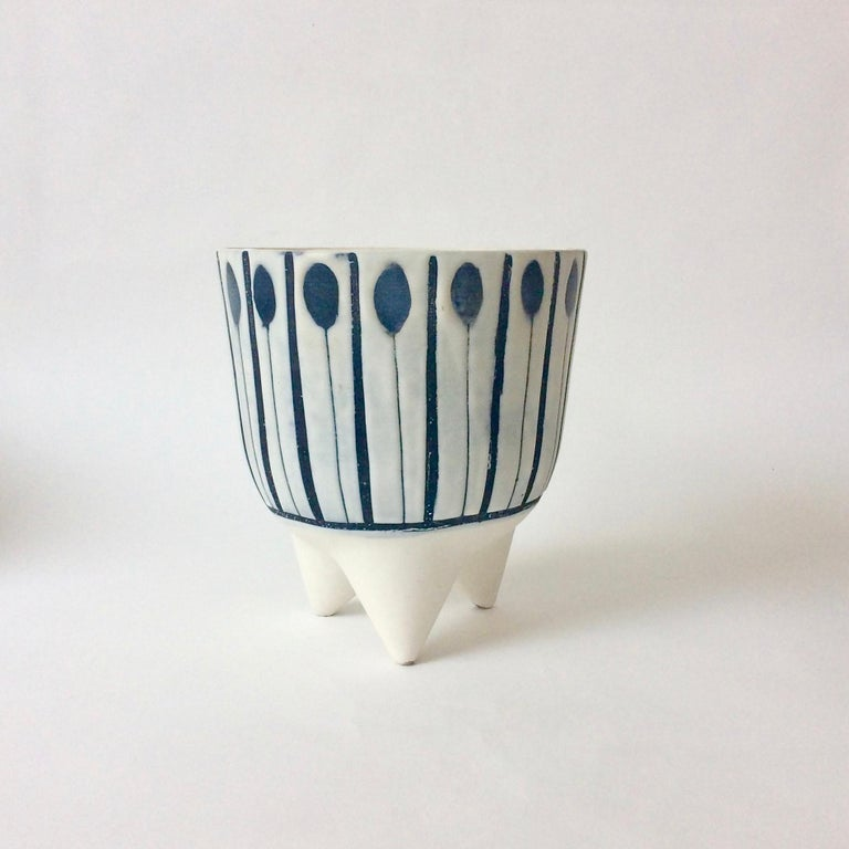 Roger Capron Molaire vase, 1957, France.