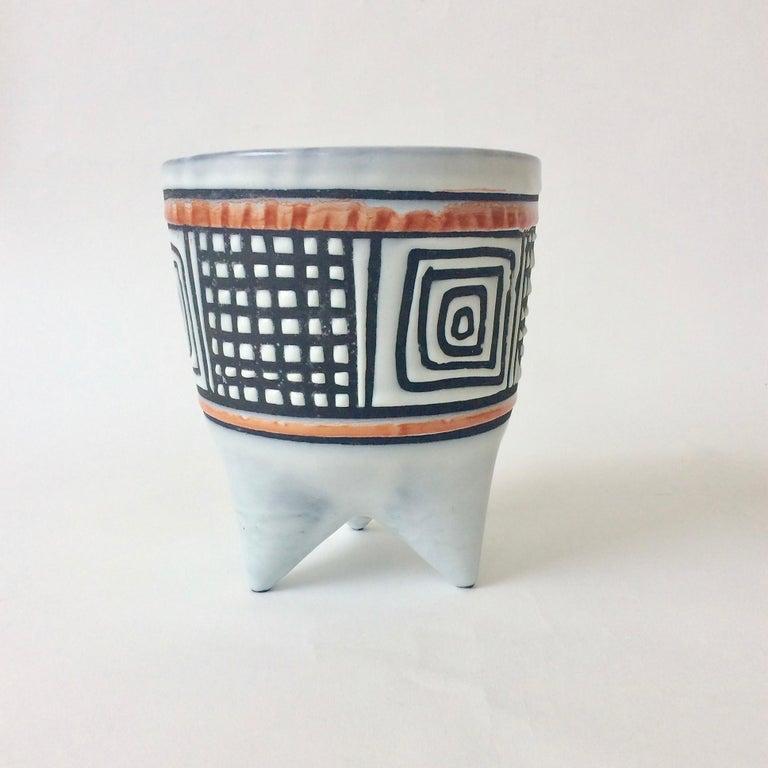 Roger Capron Molaire Vase, circa 1957, France For Sale 4