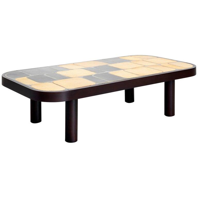 "Roger Capron ""Sho-gun"" Coffee Table For Sale"
