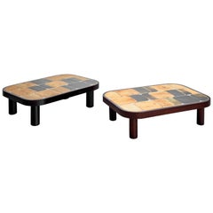 "Roger Capron ""Sho-gun"" Coffee Tables"