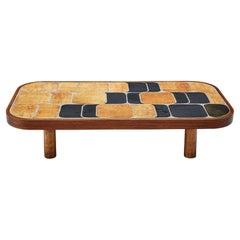 Roger Capron 'Shogun' Coffee Table in Ceramic