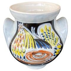 Roger Capron Vase for Vallauris, circa 1960, France